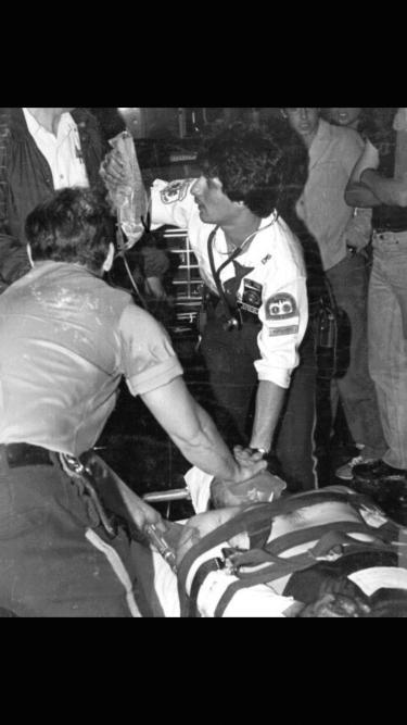 Lt. Mitchell Stern paramedic city of New York